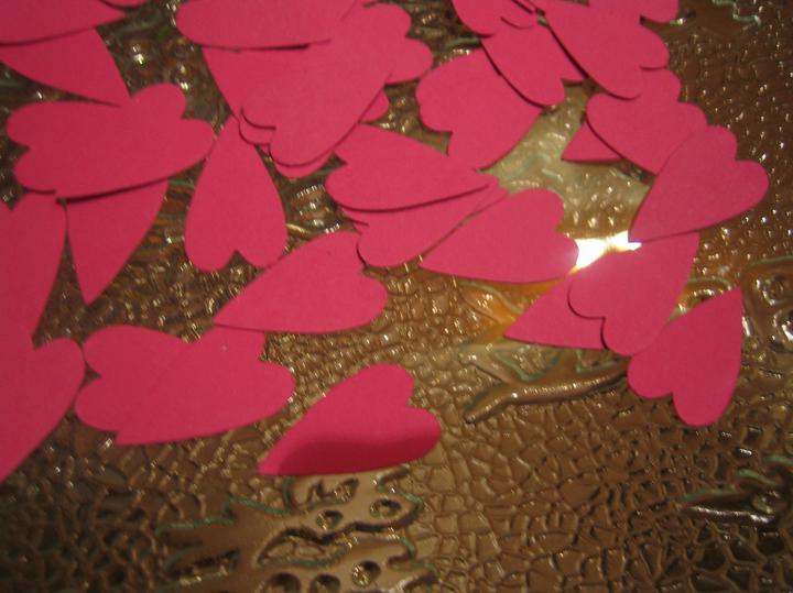 Nezbytné maličkosti :-) - Konfety do svatební rýže