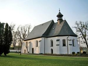 kostelík sv. Trojice - zde budeme mít obřad