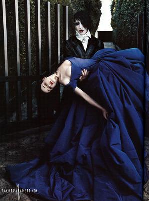 Goth wedding - svadba