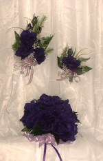 Goth wedding - kvetinky