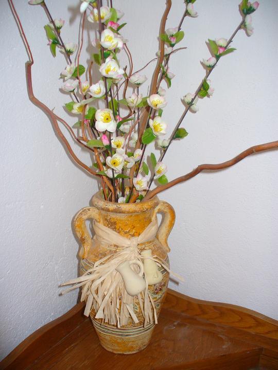 Moje dekorky - moje radosti - k meninám od kamošky