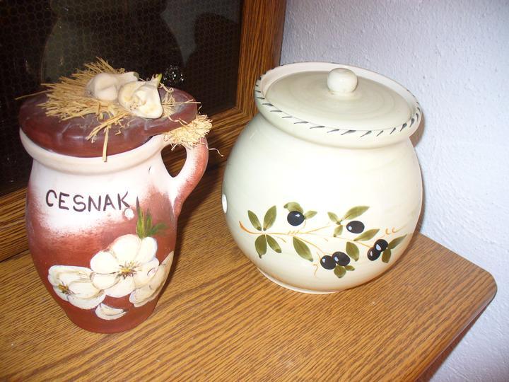 Moje dekorky - moje radosti - cesnak a cibuláčik