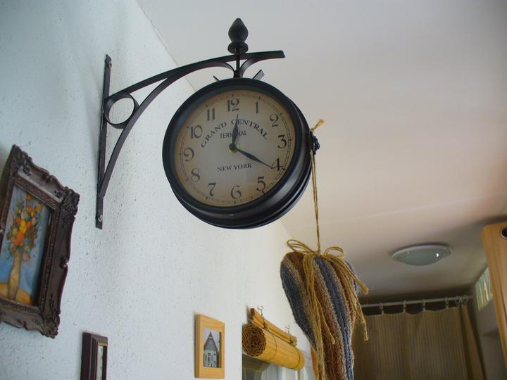 Moje dekorky - moje radosti - staničné hodiny