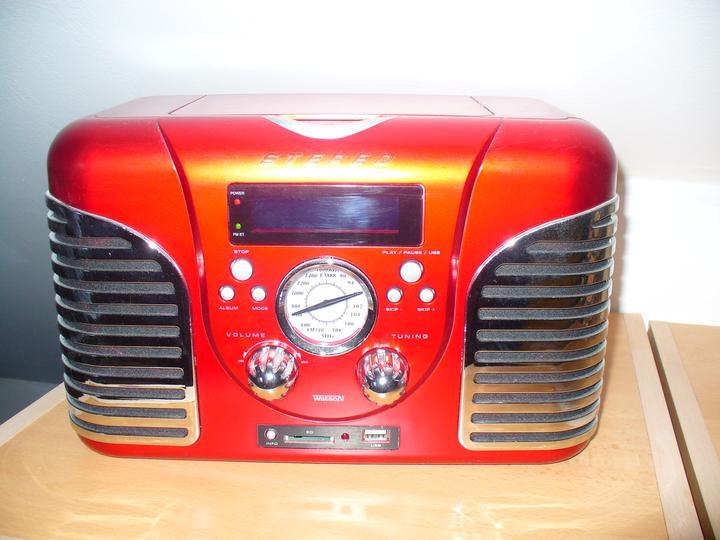 Moje dekorky - moje radosti - výborne hrá - rádio + cd