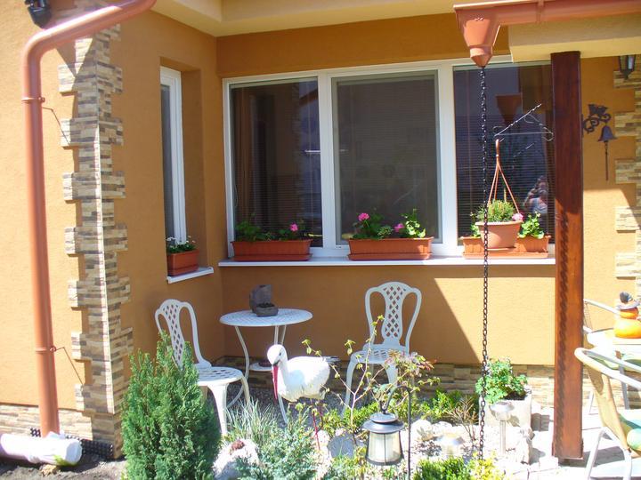 Moje kvietky v záhrade a okolie domu - ešte všetko aké malinké