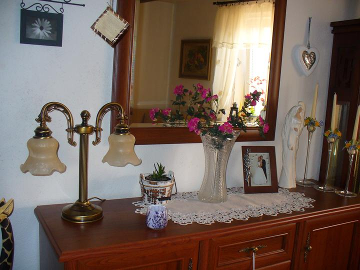 Moje dekorky - moje radosti - tá lampa je úžasnááá, strašne sa z nej vytešujem