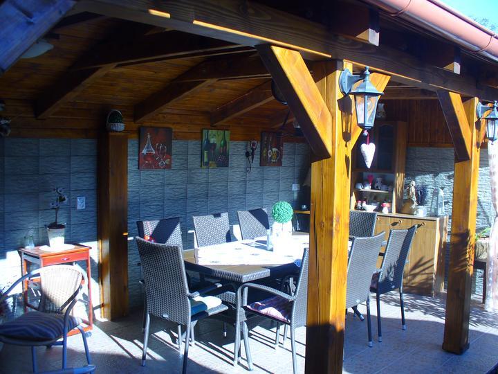 Naša terasa - a zase svieti slniečko