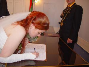 podpis Kristýna