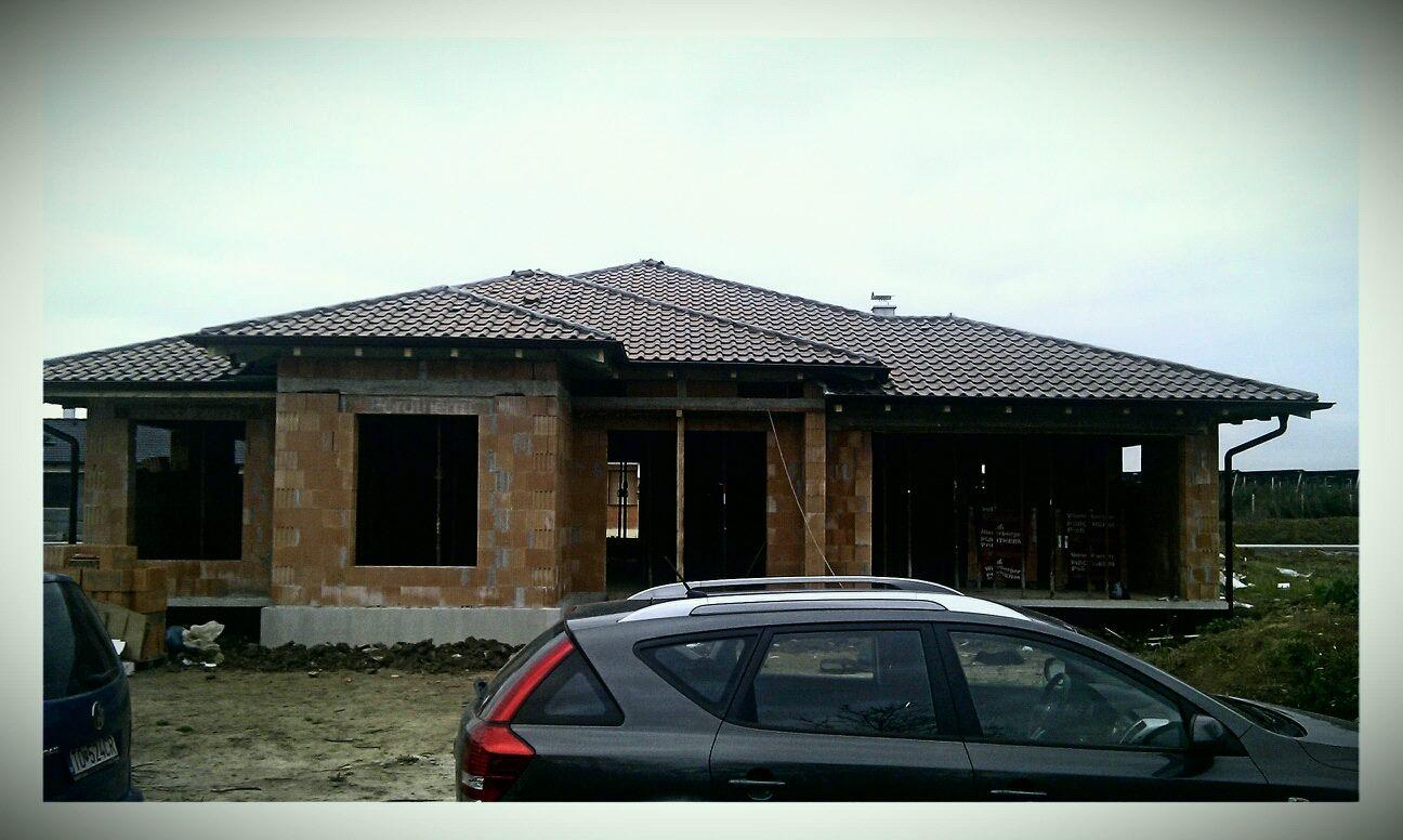 Naš domček, nahľad do buducna - Mame hrubú stavbu za sebou, už sa to rysuje )))))