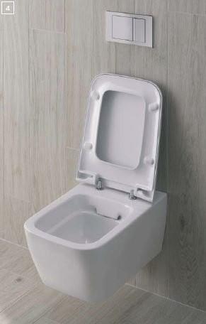 Kupelka a všetko čo k nej patri - Kolo Life závesné WC