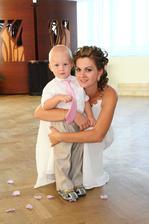 môj malinký synovček so sestrou