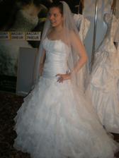 Skúška šiat v Inchebe na svadobnom veľthru