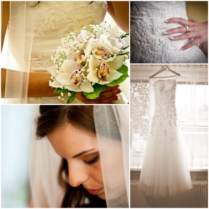 Andrejka{{_AND_}}Miško - šaty, kvety, závoj.... tak rada by som si to všetko zopakovala...