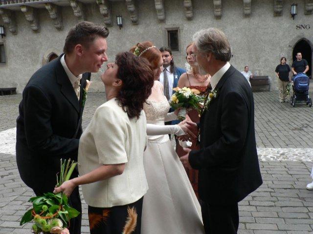Martina Sramkova{{_AND_}}Martin Skriniar - gratulacii bolo plno