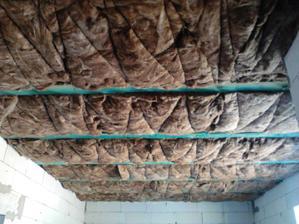 zaizolovaný strop v spálni