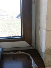 detail - okno a parapet