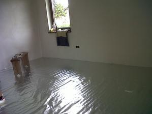 Príprava na podlahové kúrenie