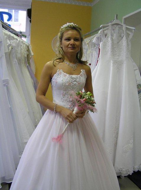 Hanka 7.7.2007 - krásná kytka i šaty