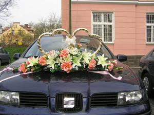 tak tohle bude na autě, které poveze nevěstu (MĚ teda doufám :)), ale auto bude jiný...