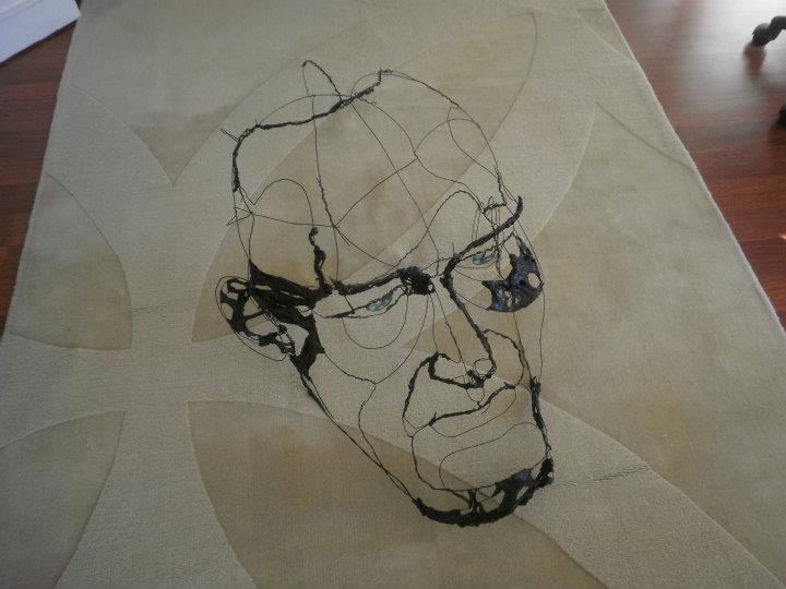 DAVID OLIVEIRA- drôtené sochy,  Galéria  LISABON - Obrázok č. 36