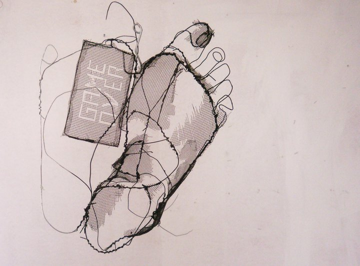 DAVID OLIVEIRA- drôtené sochy,  Galéria  LISABON - Obrázok č. 37
