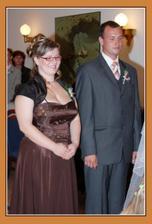 naši svědci: moje sestřička a náš nejlepší kamarád