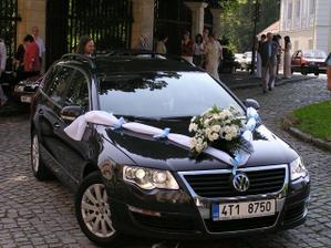 Přijela nevěsta......s velkým zpožděním:-)