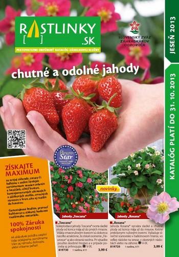 rastlinky_sk - Katalóg Jeseň 2013