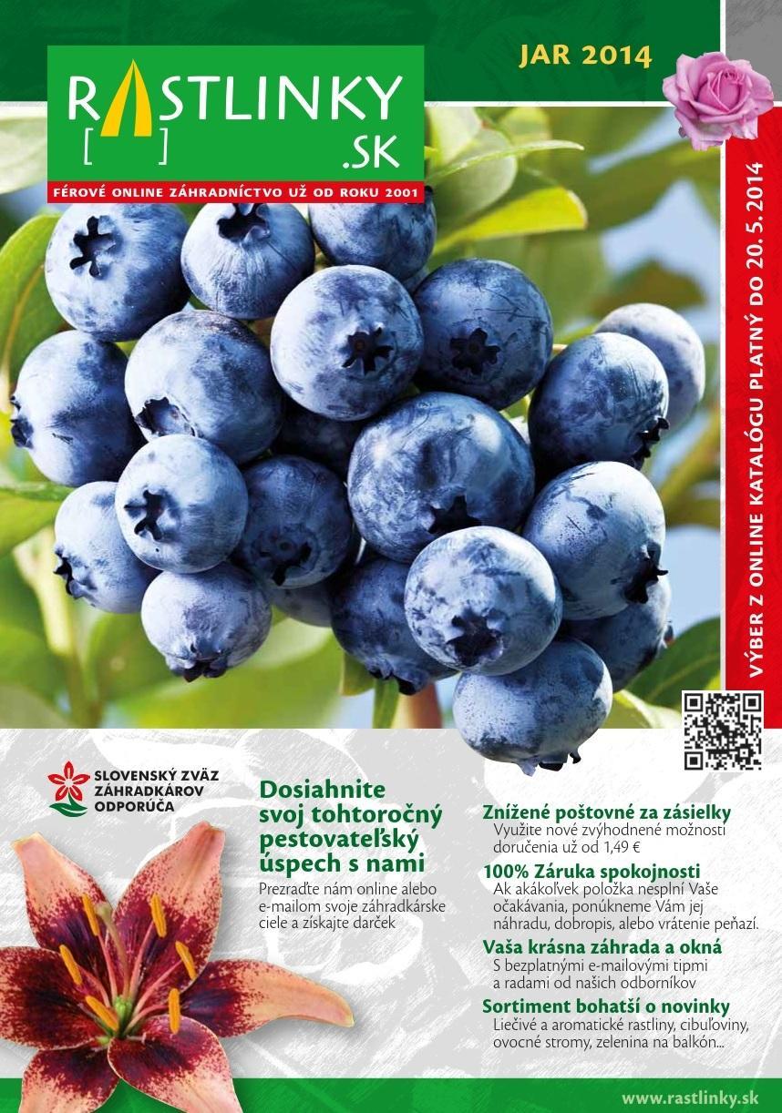 rastlinky_sk - Katalóg Jar 2014