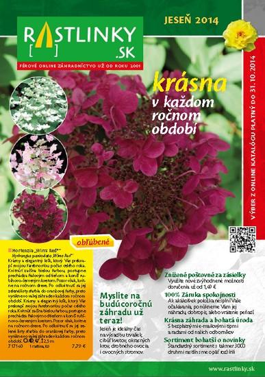 rastlinky_sk - Katalóg Jeseň 2014