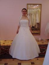 Moje objednané svatební princeznovské šaty..