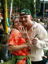 Oslava naší svatby na festivalu v Trutnově...
