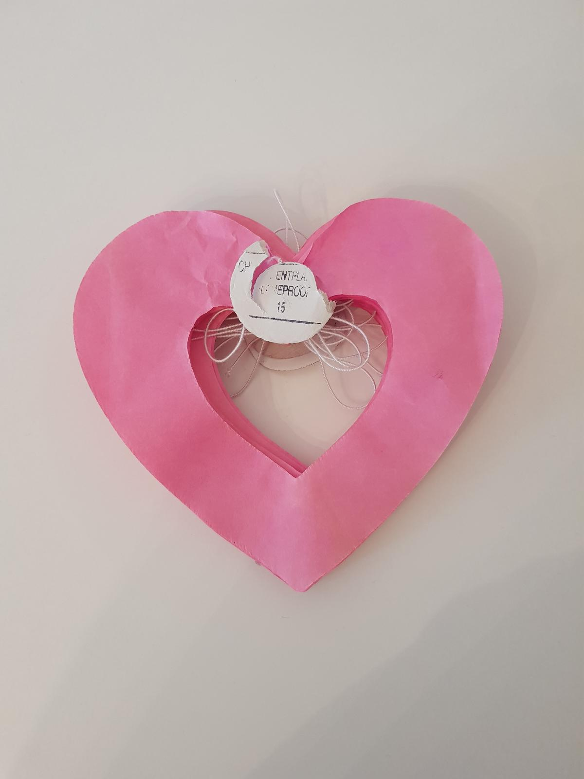 Girlanda srdce 3m - Obrázok č. 2