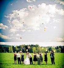 Nápady na svatební fotky
