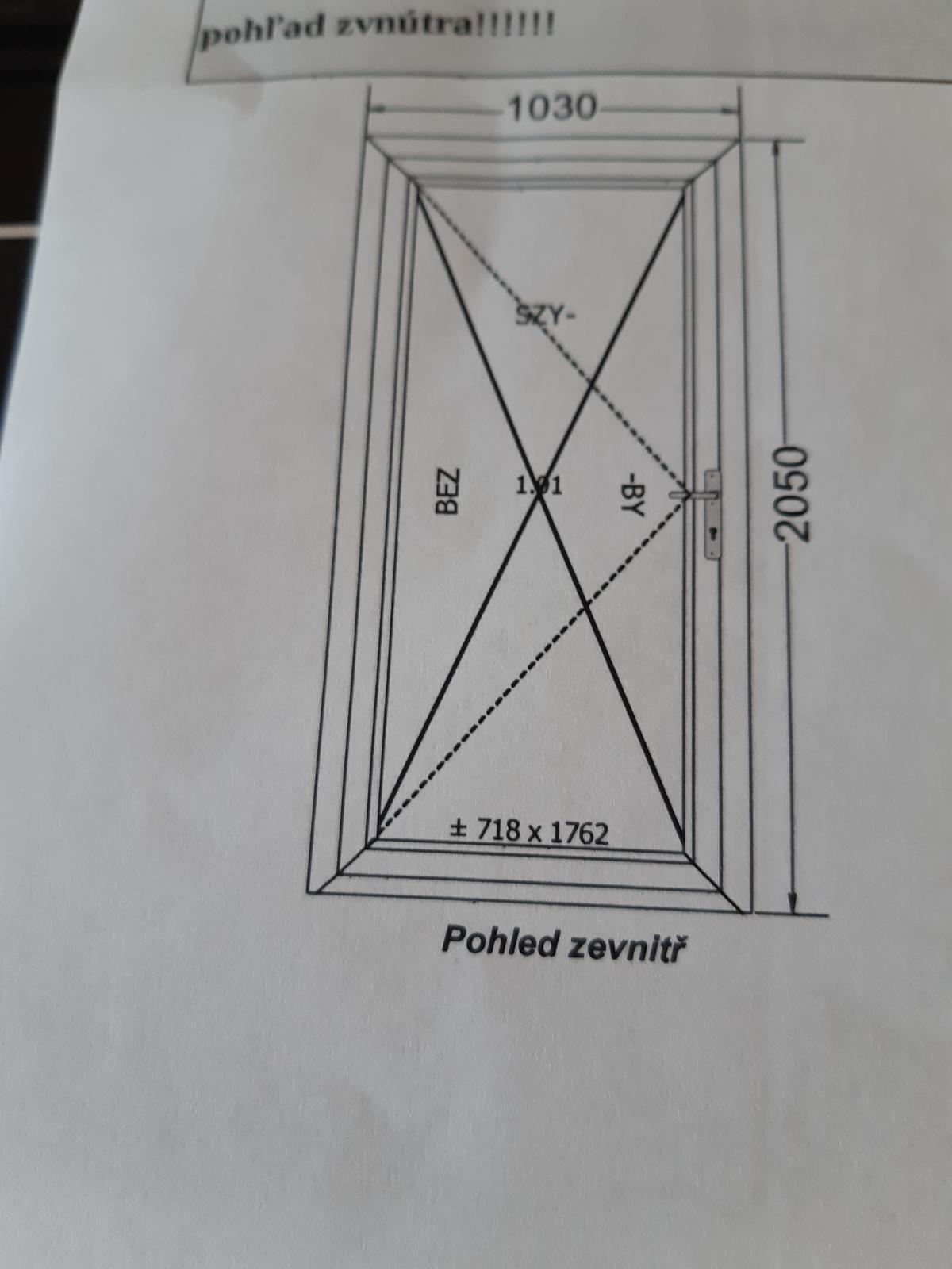 vchodove dvere - Obrázok č. 1