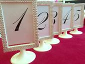 Čísla stolov,