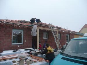 toto lítá - okna, střecha