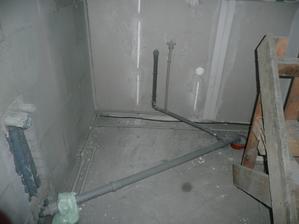 rozvod vody v kuchyni