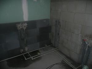 rozvod vody v koupelně