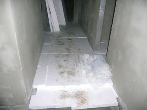 totok polystirénu na fajnu dazku, abylo fajne betonka