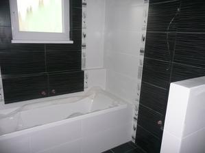 ještě umyvadlo, zrcadlo, baterie, záchod, žebřík a Expedit z Ikea a je to komplet :-)