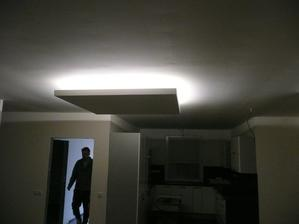 funkční led osvětlení v obýváku