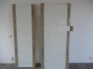 dveře čistě bílé