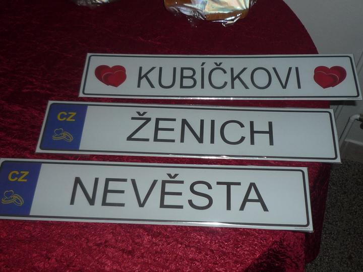 Zuzana Kubíčková{{_AND_}}Dalibor Kubíček - jedna moje, jedna jeho a pak naše společná:-)