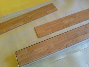 podlaha dub briliant, 10mm