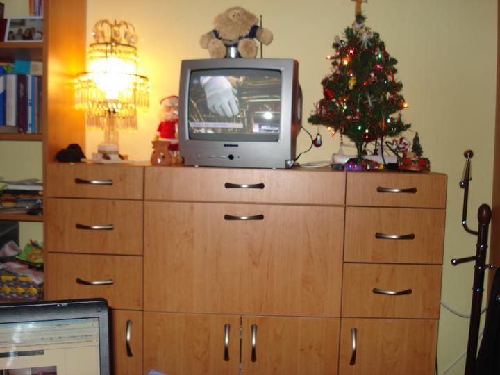 Moja izbietka - vianocna vyzdoba v izbe