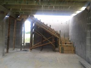 schody zasalovane...