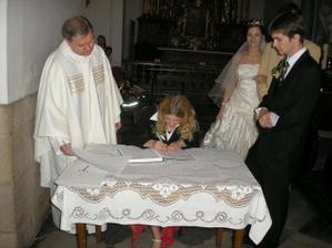 podpis svědkyně
