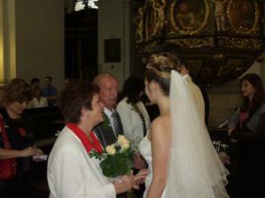 gratulace rodičů nevěsty