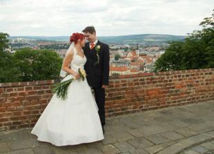 Úžasný výhled na Brno (po vymazání několika továrních komínů)